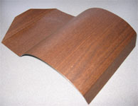 Tennage Sample:Applied on curved and bent steel surfaces